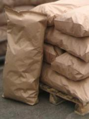 Bags for dry construction mixes