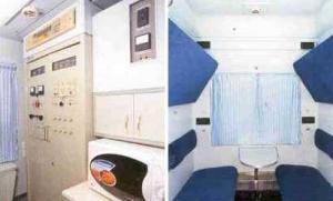 Compartment passenger rail car