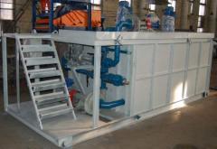 Блок приготовления раствора(нефтяное оборудование)
