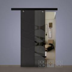 Sliding glass doors and partitions