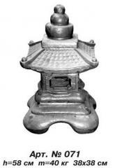 Chinese small lamp of Art.No. 071