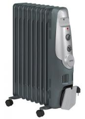 The AEG 5521 RA oil heater - 9 SECTIONS of 1963-07