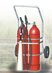 Огнетушители углекислотные передвижные ВВК-56