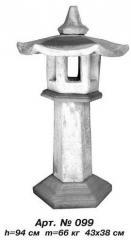 Chinese small lamp of Art.No. 099