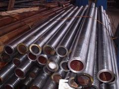 Pipes bearing.