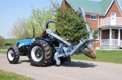 Пересадчики деревьев Baumalight (Канада)