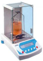 The device for determination of density of RADWAG