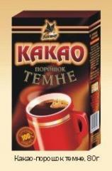 Cocoa powder dark weight alkalizirovany