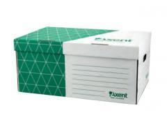 Короб для боксов архивный (зеленый)