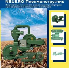 Zernometateli and grain loaders pneumatic, the