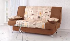 Upholstered furniture on a metal framework the