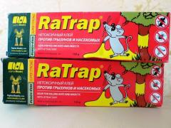 Клей от мышей RaTrap (Чехия)