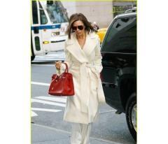 Длинное кашемировое пальто от Виктории Бекхем