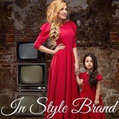 Длинное красное платье Бородина