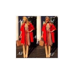 Красное кашемировое пальто Блэкпул