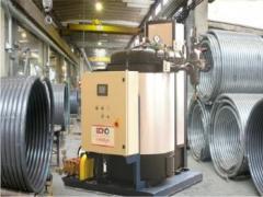 Steam generators.