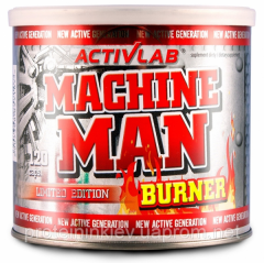 ACTIVLAB Machine Man Burner 120 caps.