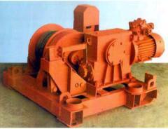 Лебедка ЛН-50 для выполнения подъемных, монтажных