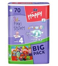Diapers nurseries of HAPPY (70) size 4