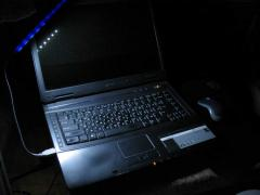 USB lamp light-emitting diode for the laptop.