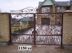 Gate transparent 20