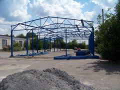 Construction of hangar 15*48*5.