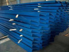 Metal constructions (columns, trusses, floor beams)