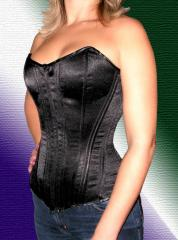 Attention Action! A corset from the black atlas,