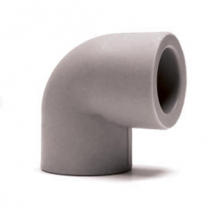 Fitting polypropylene knee 90, article of