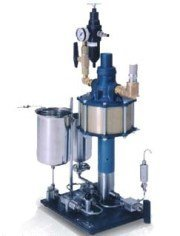 Pneumatic homogenizer of high pressure...
