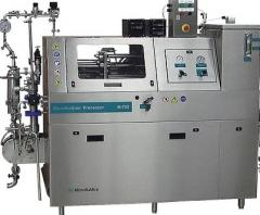 Pilot homogenizer of high pressure (mikroflyu