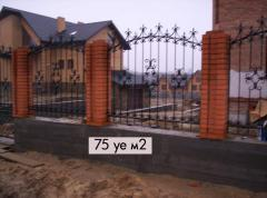 Wrought iron fence Art 2