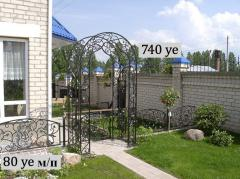 Wrought iron fence Art 8