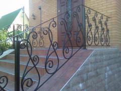 Wrought iron fence art 12