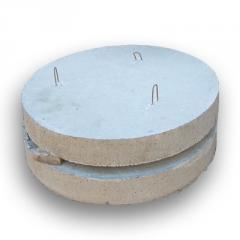 Плиты дна кругл. колодца ПН-10