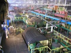 Производство железорудного концентрата, ...