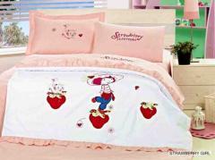 Jersey Детское одеяло ARYA (Strawberry Girl)
