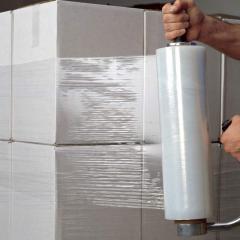 Стретч пленка для ручной обмотки паллет (стрейч,
