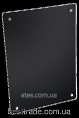 Стеклокерамическая нагревательная  панель HGlass IGH 5070 чёрная 400/200 Вт