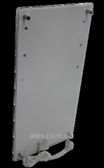 ИК стеклокерамический  полотенцесушитель-обогреватель 2 в 1  HGlass GHT 6010 белый 650/325 Вт