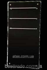 Инфракрасная стеклокерамическая  сушилка для полотенец   Hglass GHT 6010 чёрная 650/325 Вт