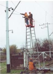 Ремонтно-восстановительный комплект для железнодорожных вышек