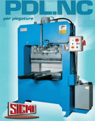 Hydraulic press for bending series of PDL. NC