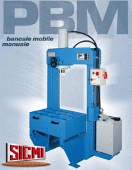 The press hydraulic for editing the RMM Sicmi