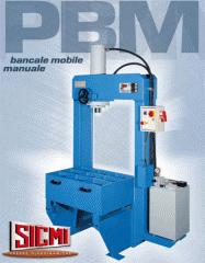 The press hydraulic for editing the RMM Sicmi