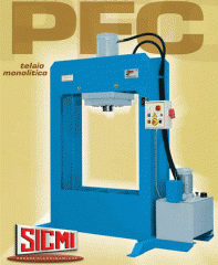 Press processings of Sicmi, hydraulic for