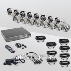 Проводной комплект видеонаблюдения CoVi Security FVK-4440  KIT