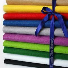 Фетр декоративный цветной жесткий 1мм 200г/м2 для
