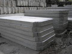 Plates road (concrete goods)