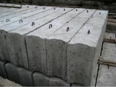 Blocks base (concrete goods)